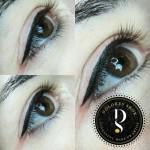 permanent makeup oči